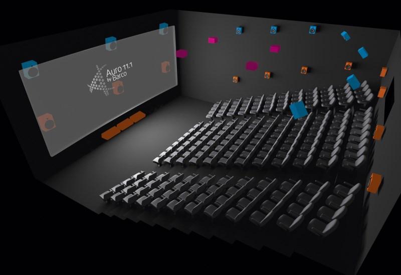 Progettazione, integrazione e manutenzione impianti Digital Cinema con diffusione Audio Dolby 5+1, 7+1 ed Atmos
